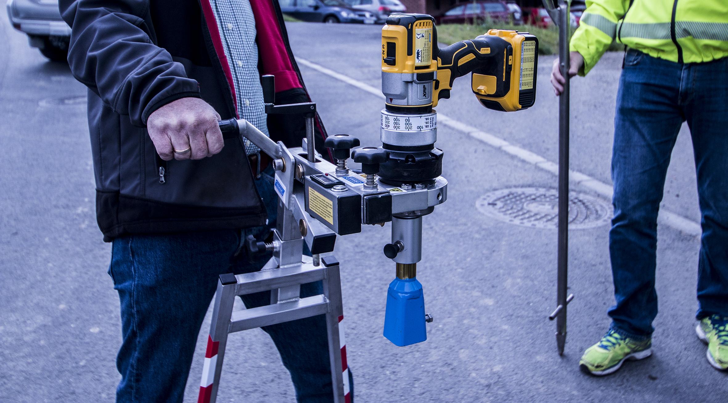 Håndholdt ventilrobot
