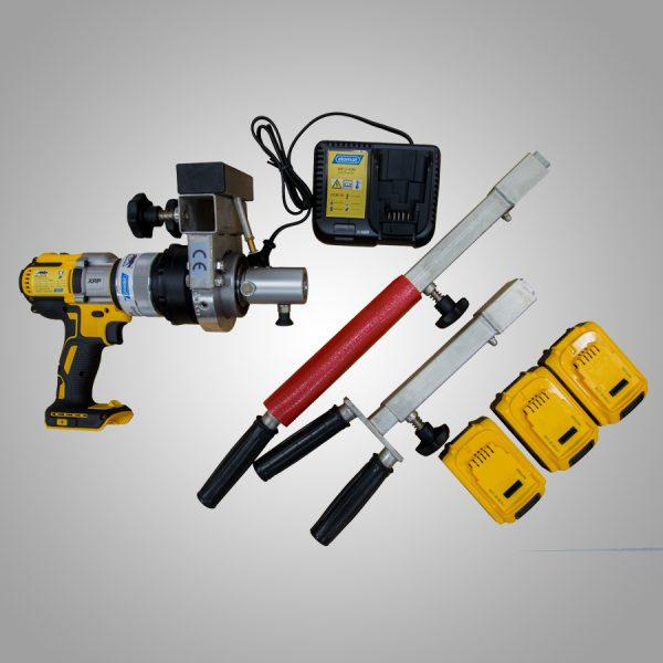 Håndholdt ventilrobot pakke innhold